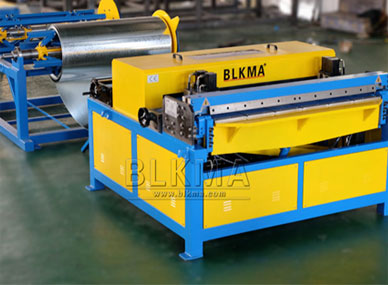 BLKMA Auto kanalledning och Spiral kanal maskin delievery till Australien